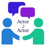 Actor 2 actor large logo